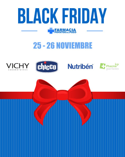 descuentos black friday Farmacia Poyatos del Pozo Dos Hermanas