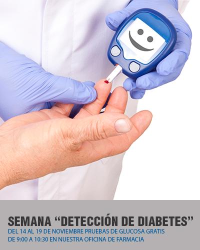 Detección de la diabetes Farmacia Poyatos del Pozo Dos Hermanas