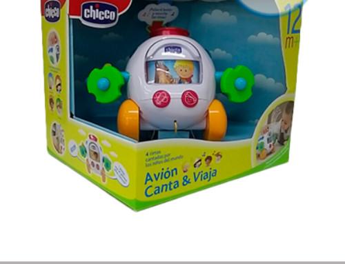 Sorteo juguete Chicco Avión Canta y Viaja