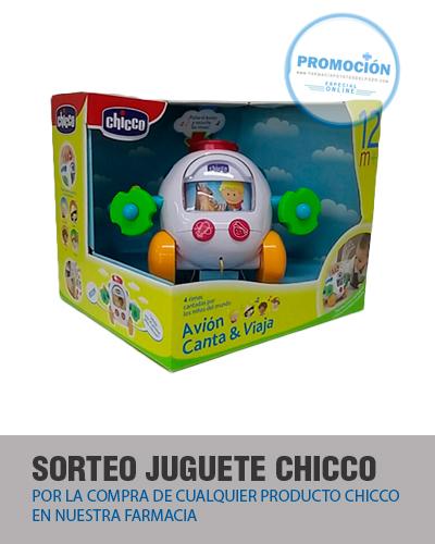 Chicco Avión Canta y Viaja Farmacia Poyatos del Pozo