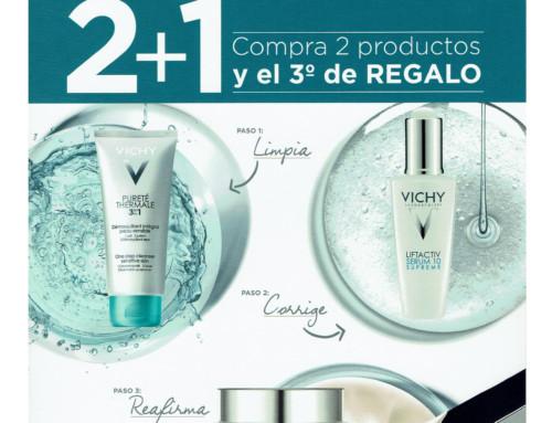 Promoción cuidado de rostro Vichy